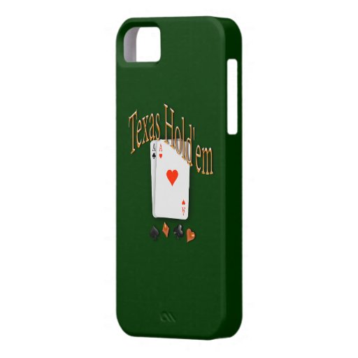 Texas Hold'em Poker iPhone 5/5S Cases