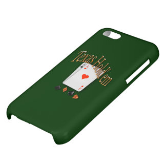 Texas Hold'em Poker Case For iPhone 5C