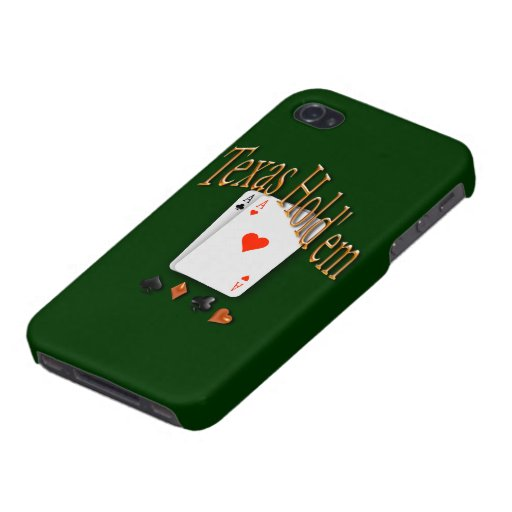 Texas Hold'em Poker iPhone 4 Covers