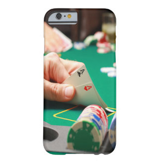 """Texas Hold-em"" Poker ""Pocket Aces"" Barely There iPhone 6 Case"