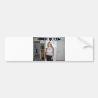 texas hold em, sept 2006 001, RIVER QUEEN Bumper Sticker