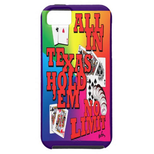 texas holdem iPhone 5 covers