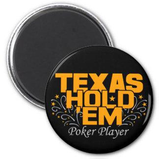 Texas Hold'Em Poker Magnet