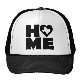 Texas Home Heart State Ball Cap Hat