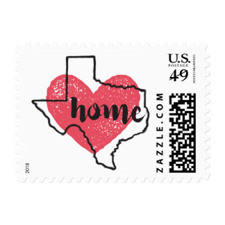 Texas Home Postage Stamps