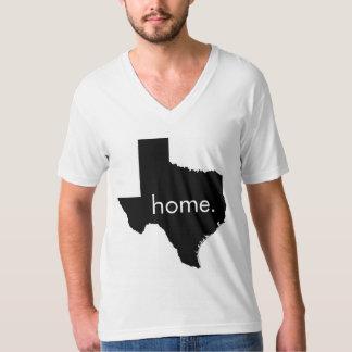 Texas Home V-Neck T-Shirt
