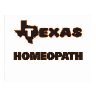 Texas Homeopath Postcard