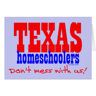 Texas Homeschoolers Card