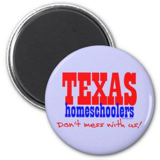 Texas Homeschoolers Refrigerator Magnet