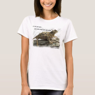 Texas Horned Lizard Horny Toad T-Shirt