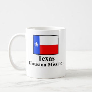 Texas Houston Mission Drinkware Basic White Mug