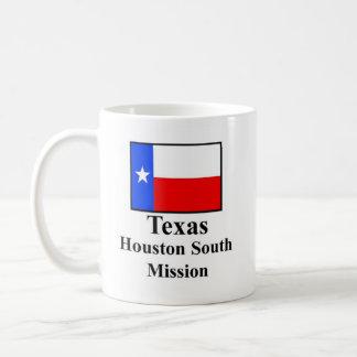 Texas Houston South Mission Drinkware Basic White Mug