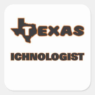 Texas Ichnologist Square Sticker