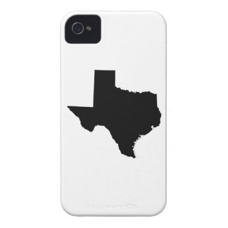 Texas in Black and White iPhone 4 Case
