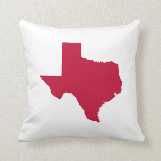 Texas in Red Cushion