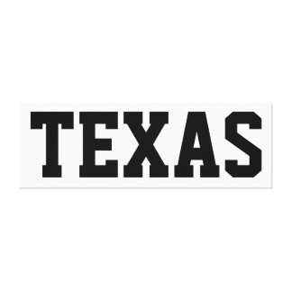Texas Independence Day Canvas 57x18