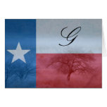 Texas Initialled Card