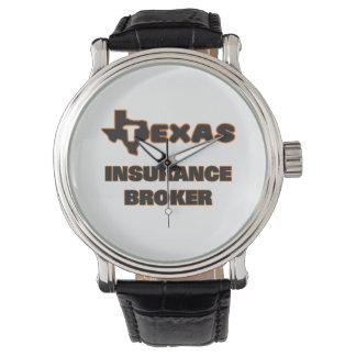 Texas Insurance Broker Wristwatch