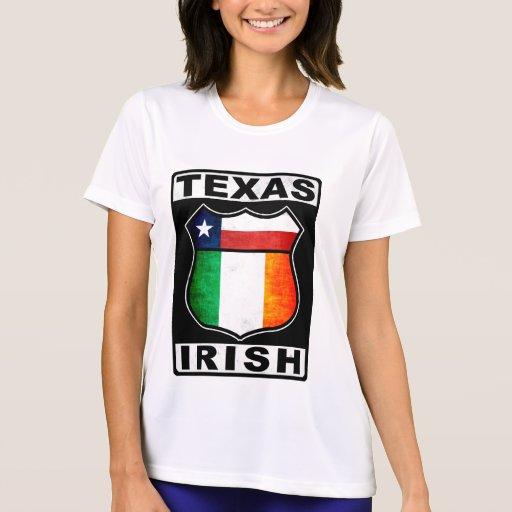 Texas irish american t shirts zazzle for Texas tee shirt company