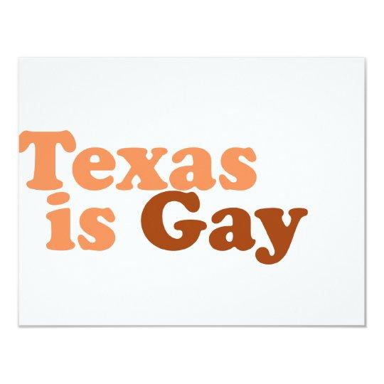 Texas is gay card