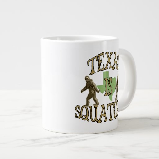 Texas Is Squatchy Jumbo Mug