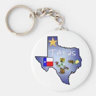 Texas Keychain