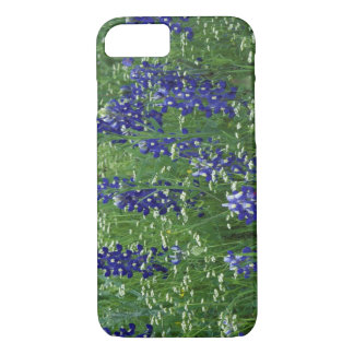 Texas, Lake Buchanan. Texas Bluebonnet and Wild iPhone 8/7 Case