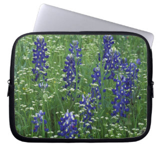 Texas, Lake Buchanan. Texas Bluebonnet and Wild Laptop Sleeve