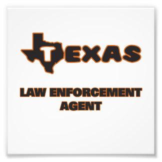 Texas Law Enforcement Agent Photo Print