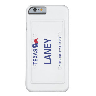 Texas License Plate Barely There iPhone 6 Case