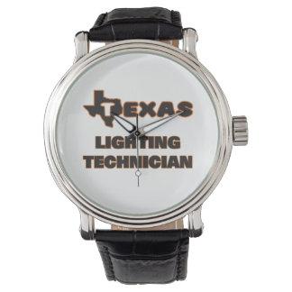 Texas Lighting Technician Wrist Watches