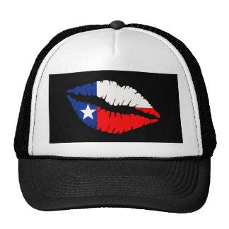Texas Lips Mesh Hat