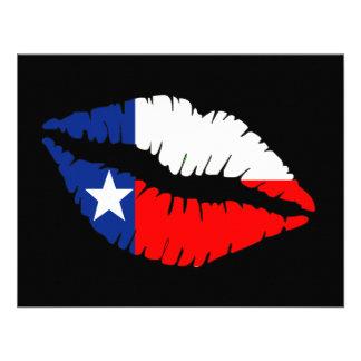 Texas Lips Invite