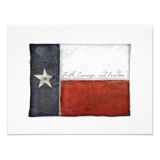 Texas Lone Star Flag Photograph