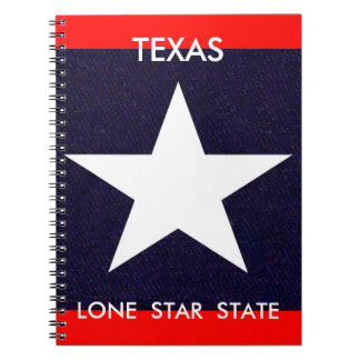 Texas Lone Star Notebooks