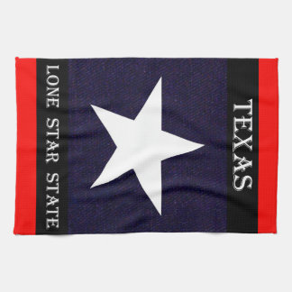 Texas Lone Star Tea Towel