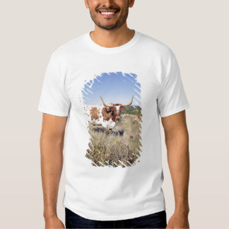 Texas Longhorn Breed (photo) T Shirt