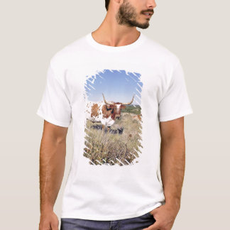 Texas Longhorn Breed (photo) T-Shirt