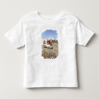 Texas Longhorn Breed (photo) Toddler T-Shirt