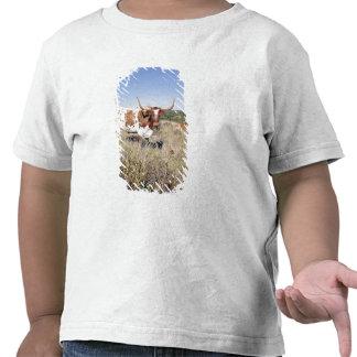 Texas Longhorn Breed (photo) T-shirt
