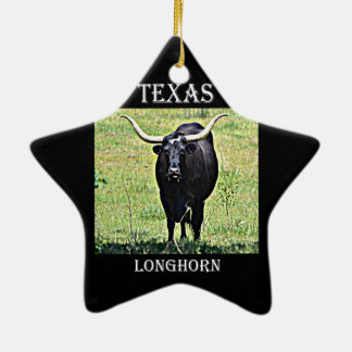 Texas Longhorn Christmas Tree Ornament