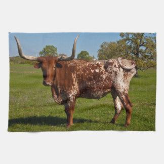 Texas Longhorn Hand Towels