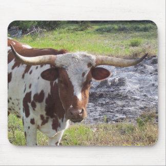 Texas Longhorn Mouse Mat