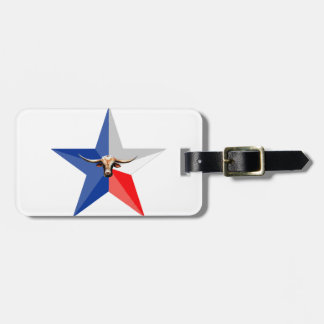 Texas Longhorn The Symbol of-Power multiple produc Luggage Tag