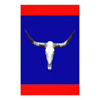 Texas Longhorn Z.jpg Personalised Stationery