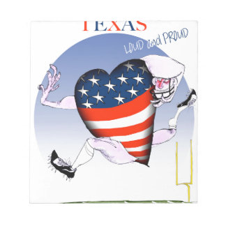 texas loud and proud, tony fernandes notepads