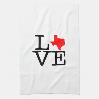 Texas Love Kitchen Towel