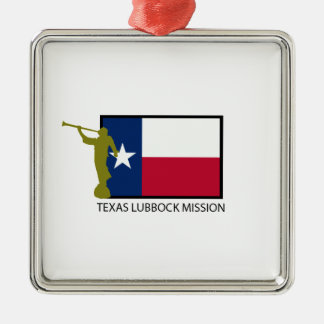 TEXAS LUBBOCK MISSION LDS CTR CHRISTMAS ORNAMENT