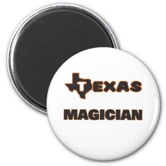 Texas Magician 6 Cm Round Magnet