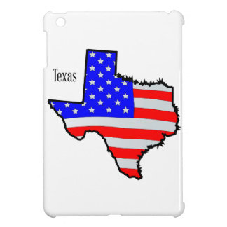 Texas Map and Flag iPad Mini Covers